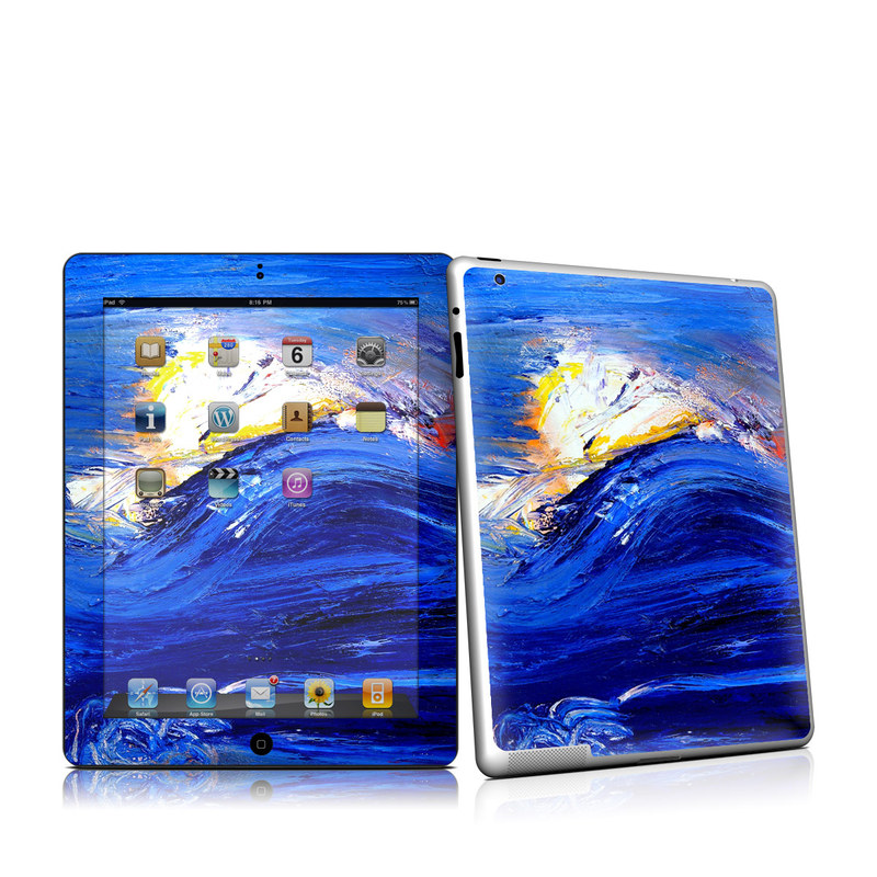 Feeling Blue iPad 2nd Gen Skin
