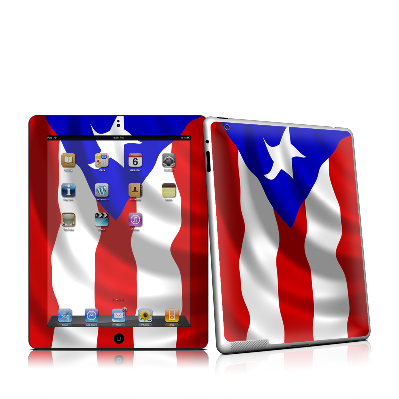 Puerto Rican Flag iPad 2nd Gen Skin