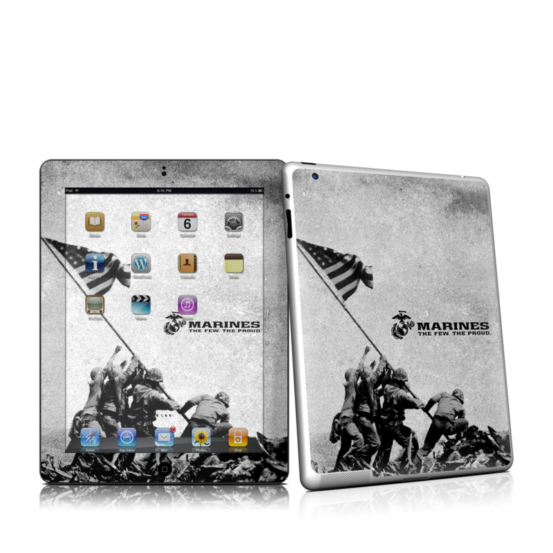 Flag Raise Apple iPad 2 Skin