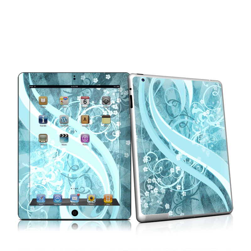 Flores Agua Apple iPad 2 Skin