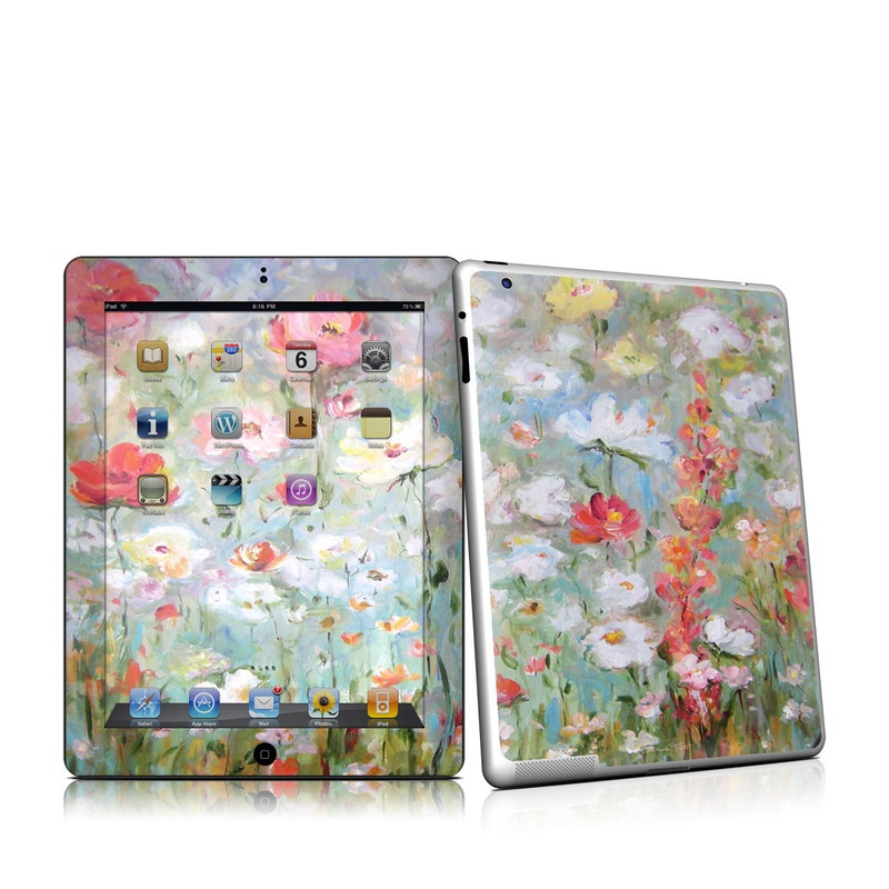 Flower Blooms iPad 2nd Gen Skin