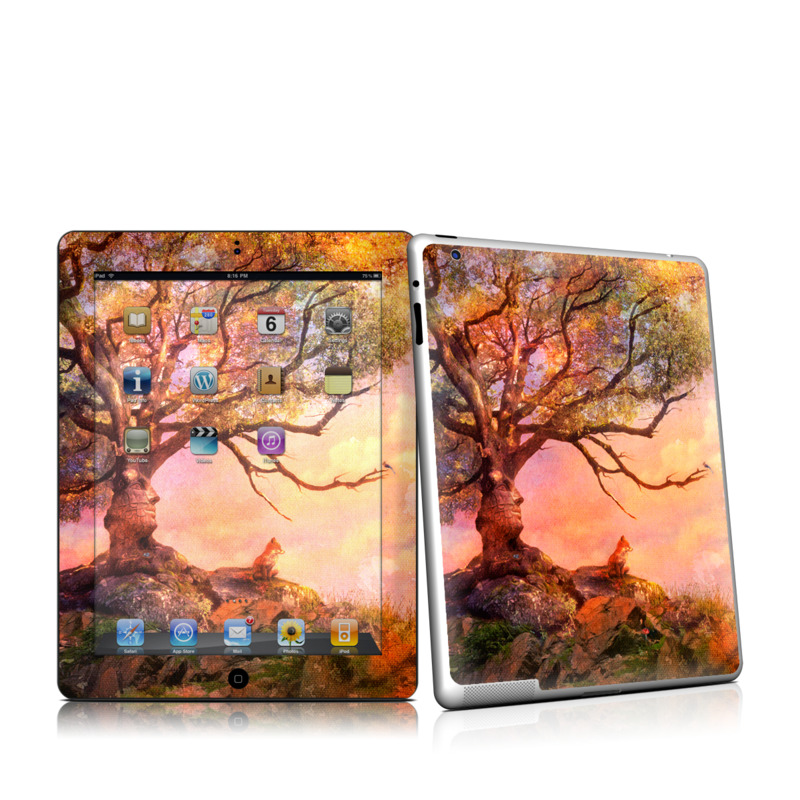Fox Sunset Apple iPad 2 Skin