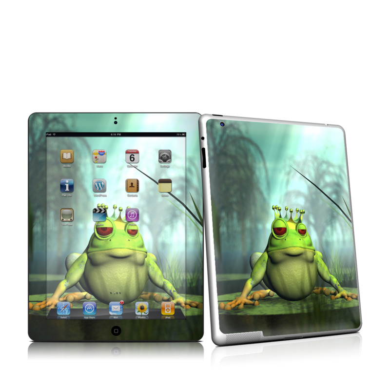 Frog Prince Apple iPad 2 Skin