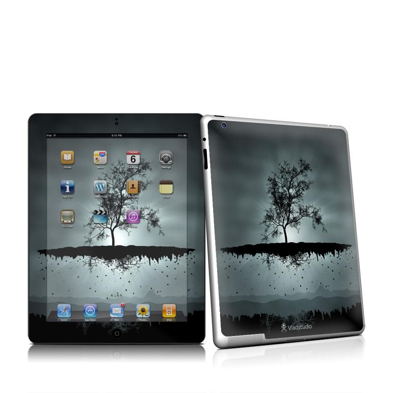 Flying Tree Black Apple iPad 2 Skin