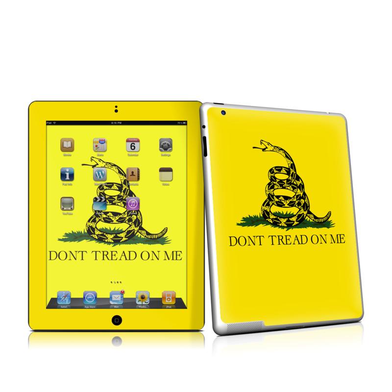 Gadsden Flag iPad 2 Skin