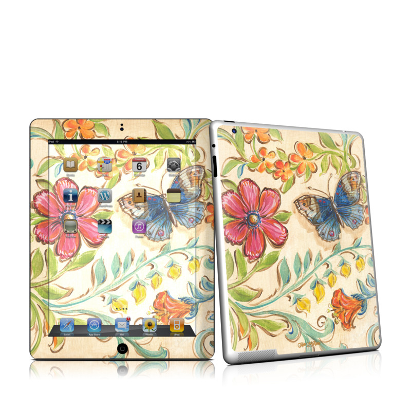 Garden Scroll iPad 2nd Gen Skin