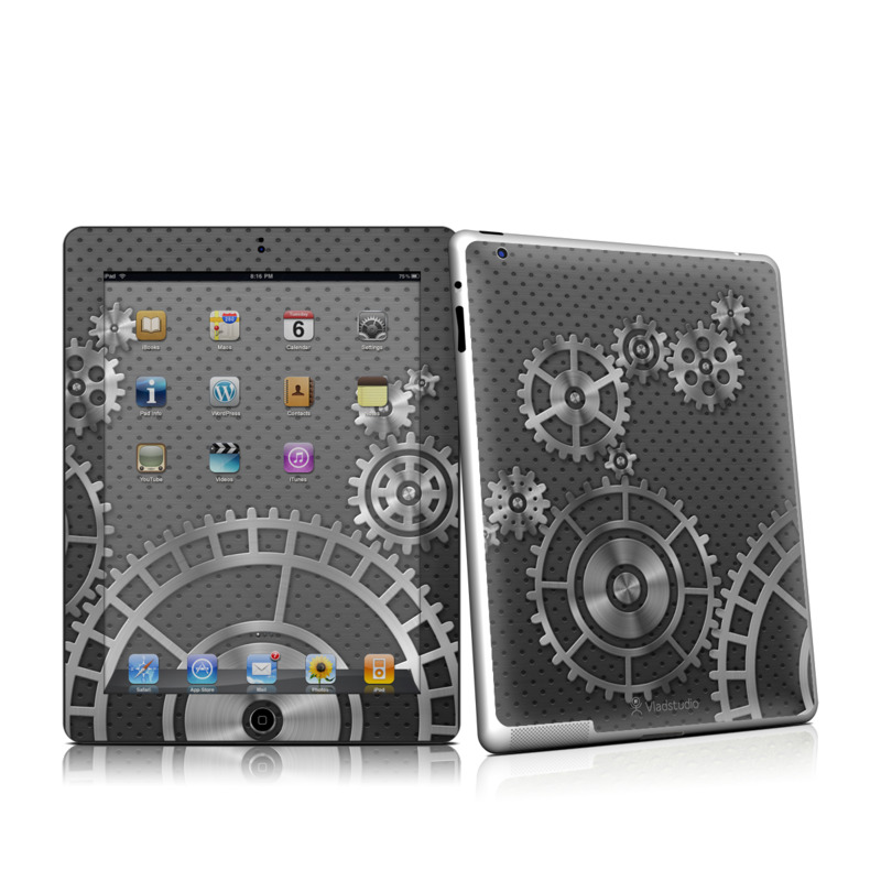 Gear Wheel iPad 2nd Gen Skin