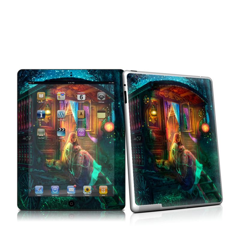 Gypsy Firefly iPad 2nd Gen Skin