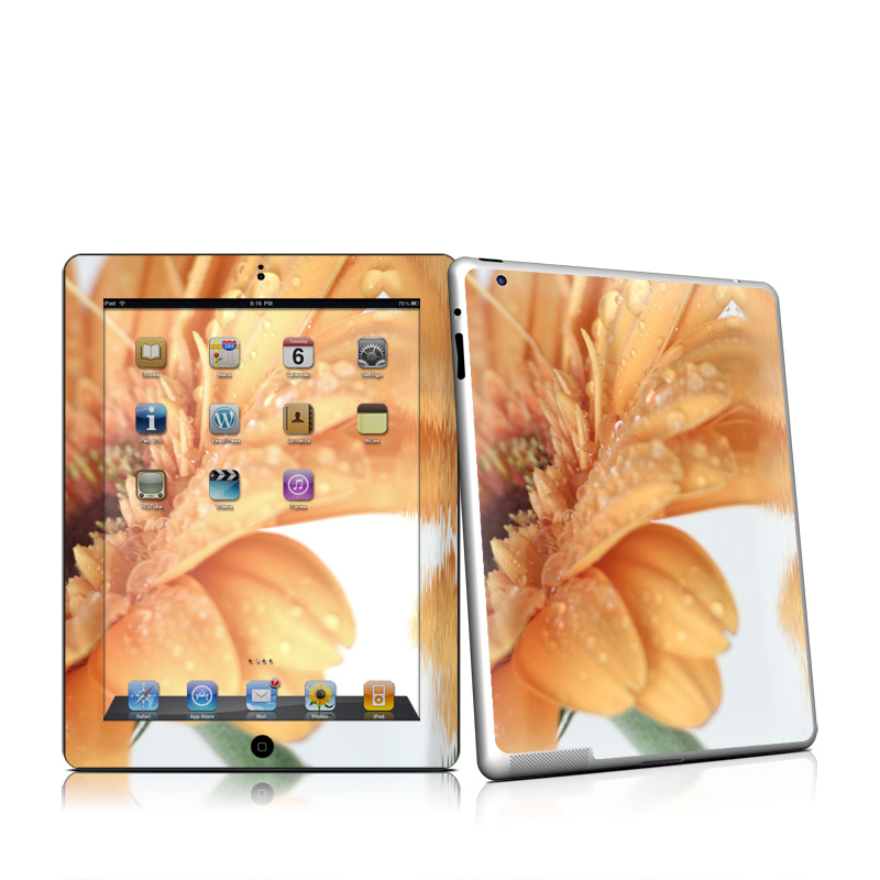Golden Gerbera Apple iPad 2 Skin