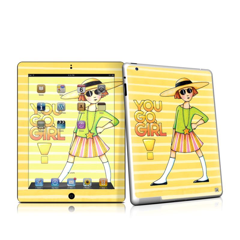 You Go Girl iPad 2nd Gen Skin