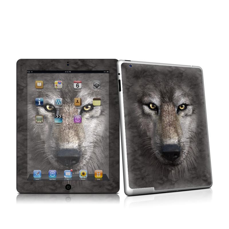 Grey Wolf iPad 2 Skin