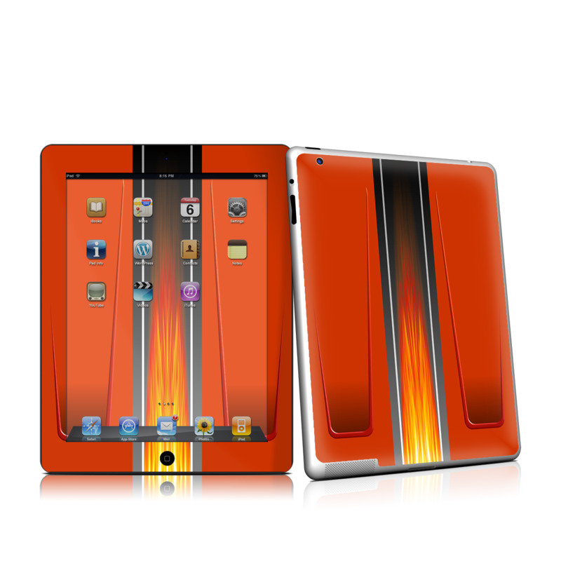 Hot Rod iPad 2nd Gen Skin