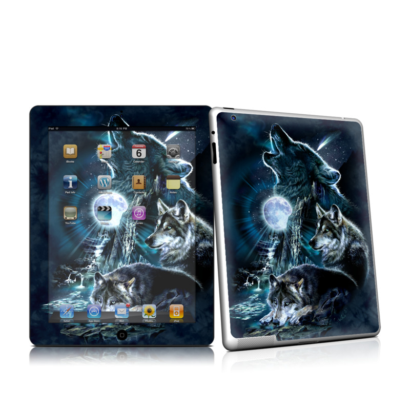 Howling iPad 2nd Gen Skin