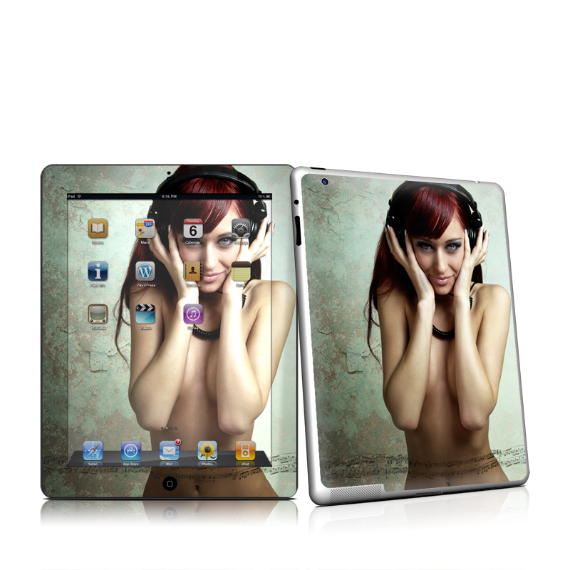 Headphones iPad 2nd Gen Skin