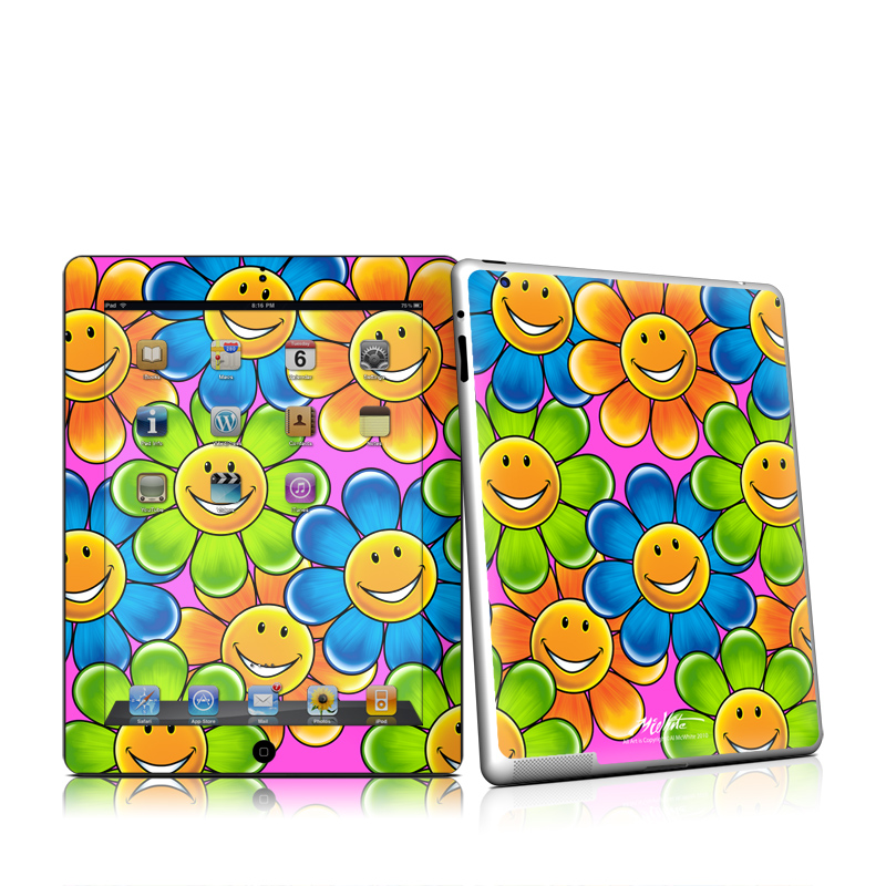 Happy Daisies iPad 2nd Gen Skin