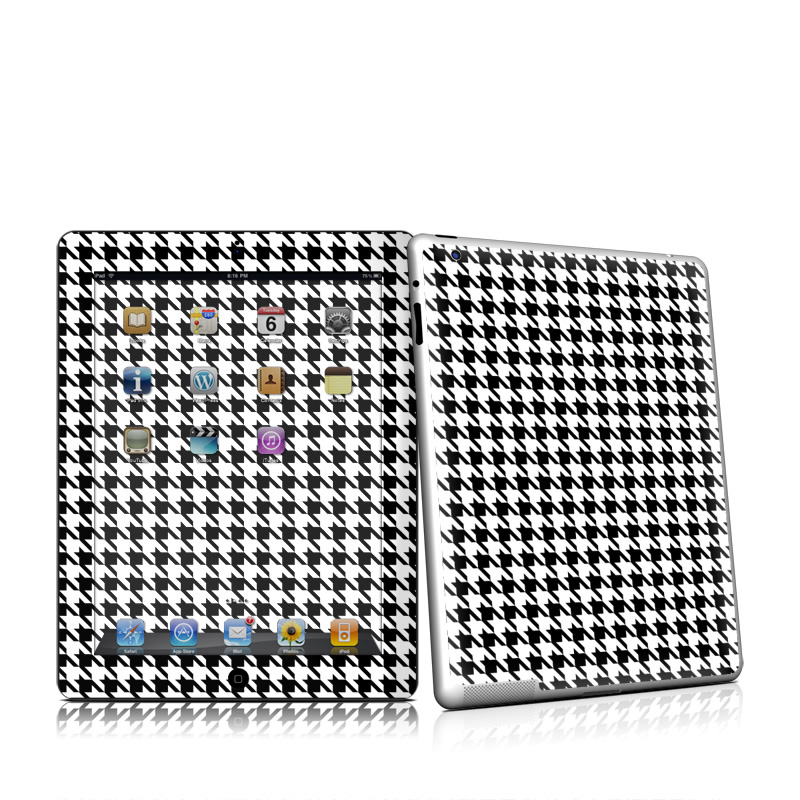 Houndstooth iPad 2nd Gen Skin