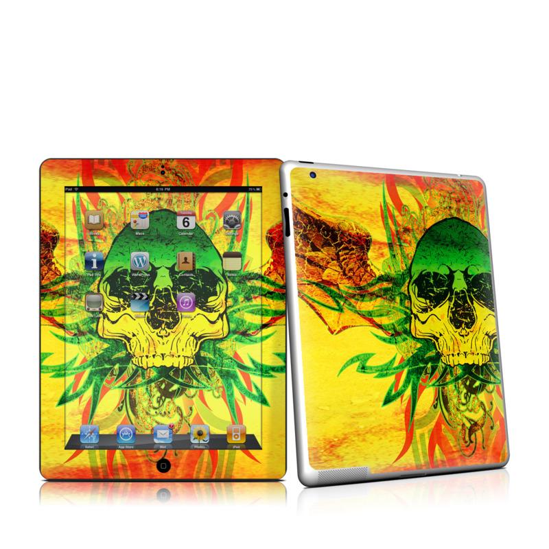 Hot Tribal Skull Apple iPad 2 Skin