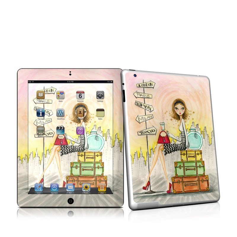 The Jet Setter iPad 2nd Gen Skin