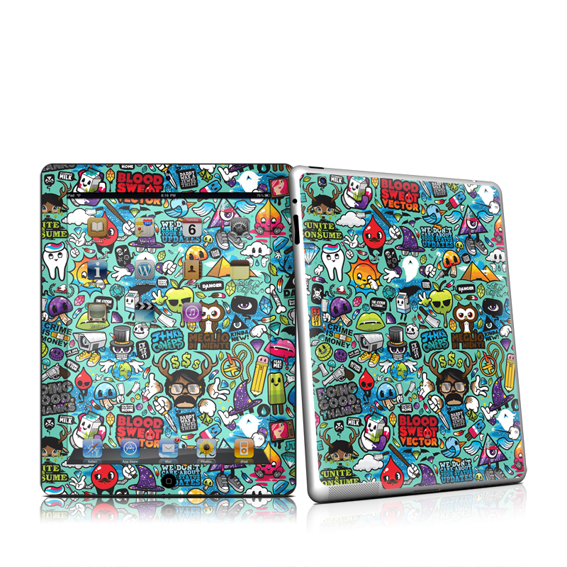 Jewel Thief iPad 2nd Gen Skin