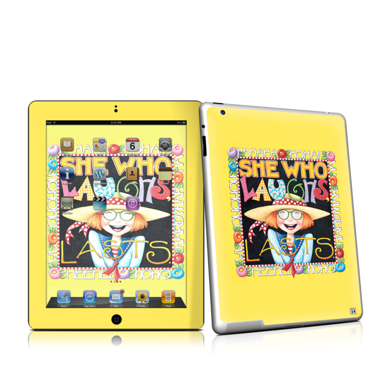 She Who Laughs iPad 2nd Gen Skin