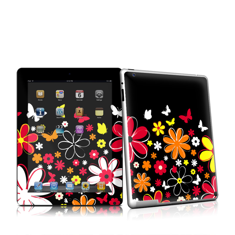 Laurie's Garden iPad 2nd Gen Skin