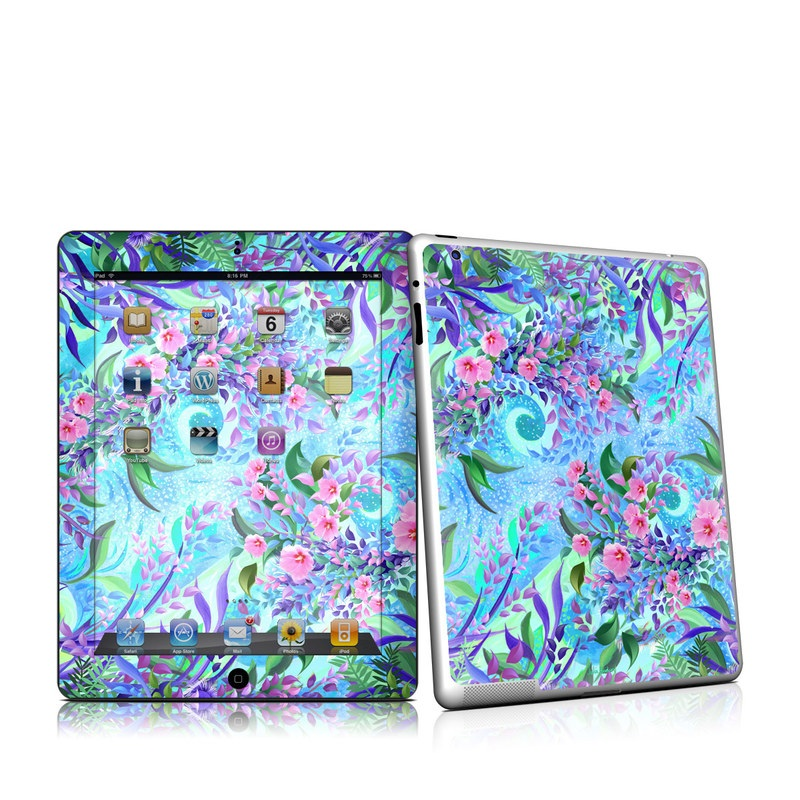 Lavender Flowers iPad 2nd Gen Skin