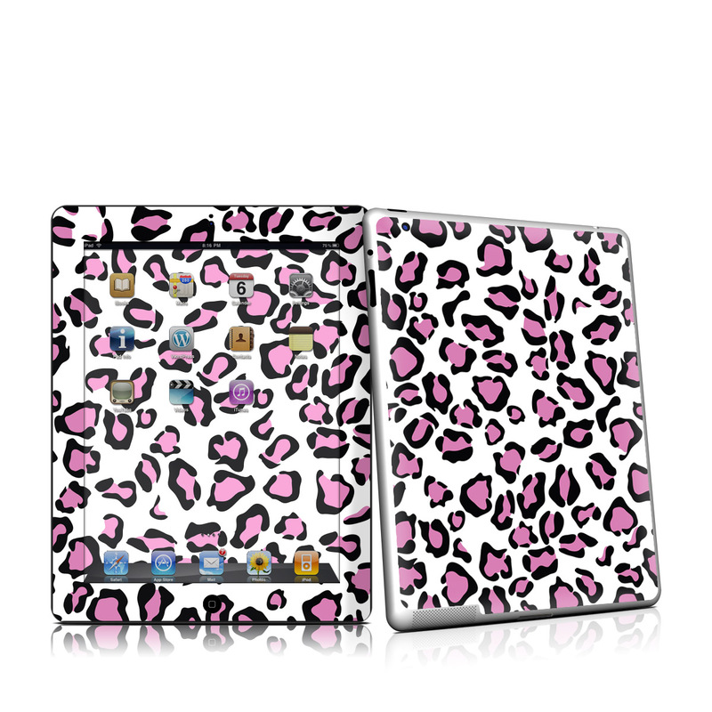 Leopard Love iPad 2nd Gen Skin