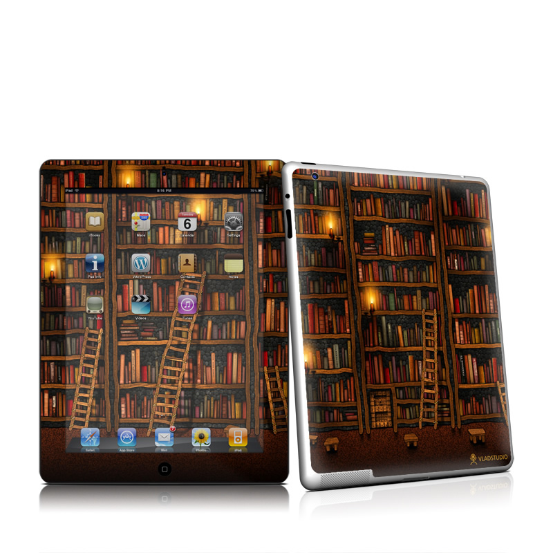 Library iPad 2nd Gen Skin