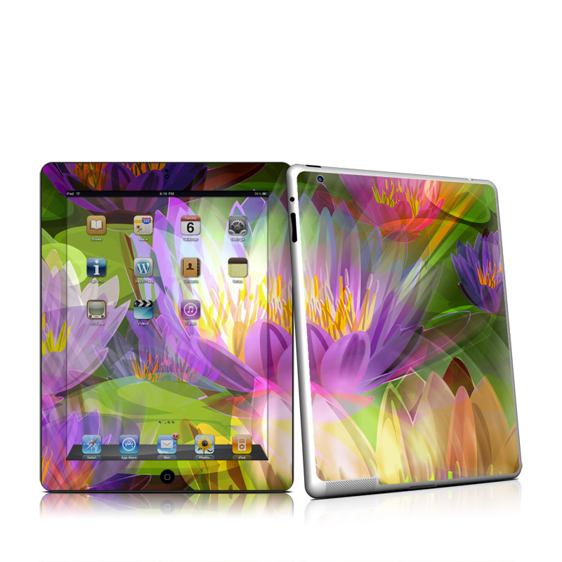 Lily Apple iPad 2 Skin
