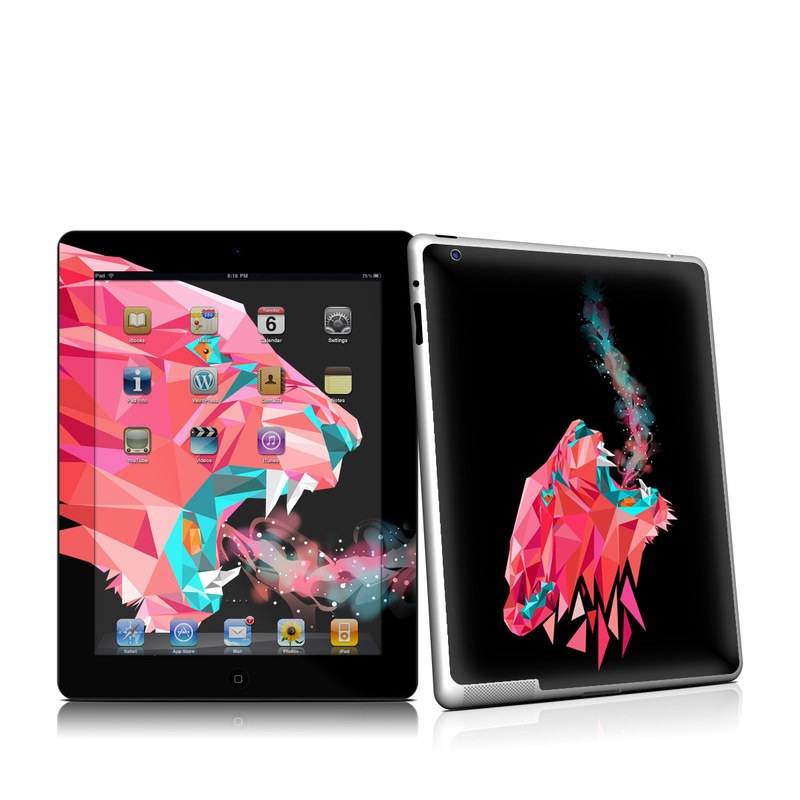 Lions Hate Kale iPad 2nd Gen Skin