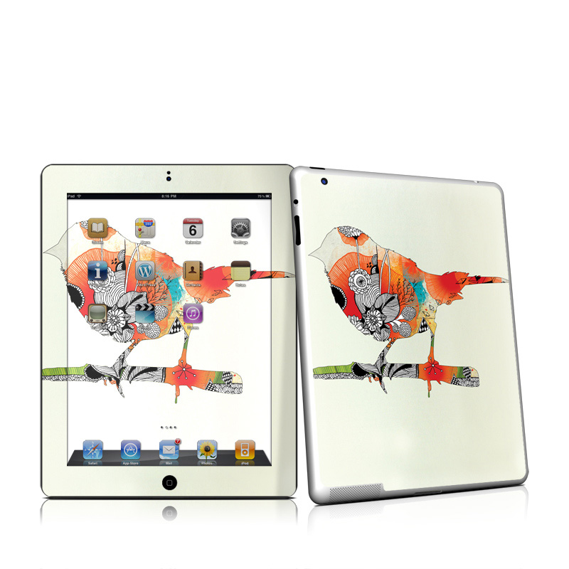 Little Bird iPad 2nd Gen Skin