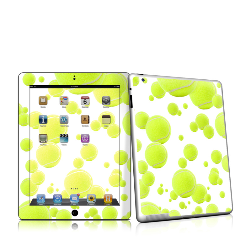 Lots of Tennis Balls iPad 2 Skin