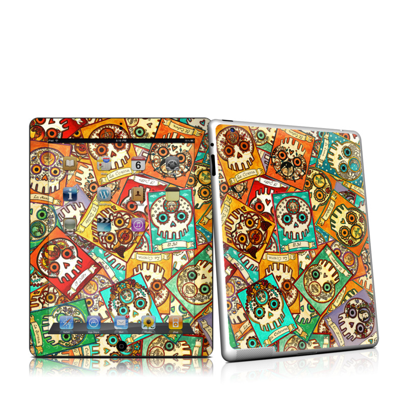 Loteria Scatter Apple iPad 2 Skin