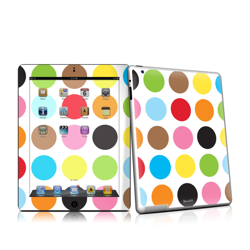 Multidot iPad 2nd Gen Skin