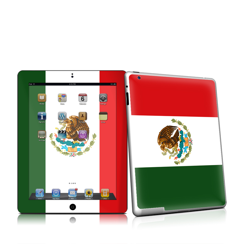 Mexican Flag iPad 2nd Gen Skin
