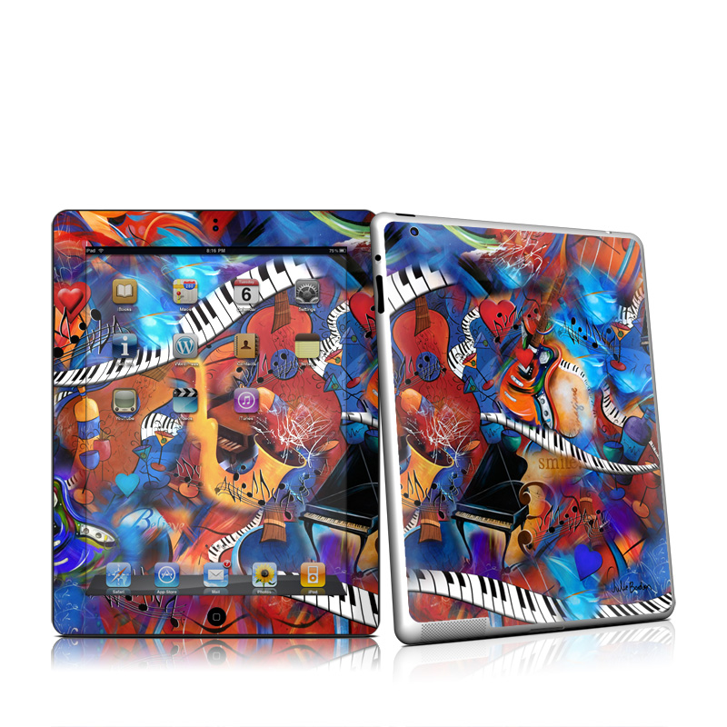 Music Madness iPad 2nd Gen Skin