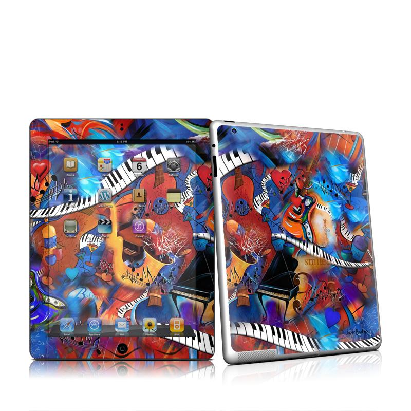 Music Madness Apple iPad 2 Skin