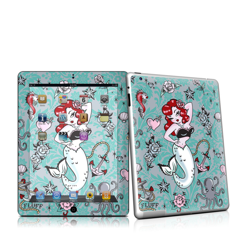 Molly Mermaid Apple iPad 2 Skin