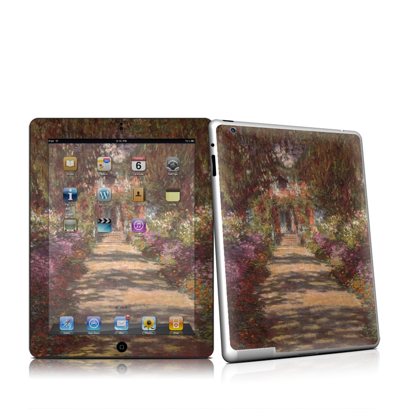 Garden at Giverny Apple iPad 2 Skin