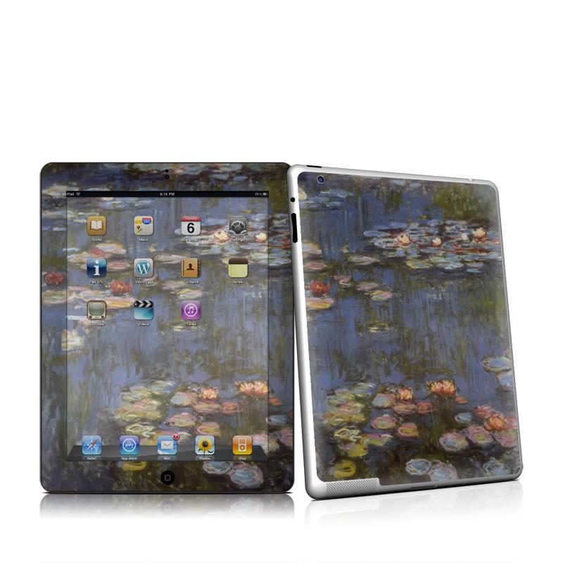 Water lilies iPad 2nd Gen Skin