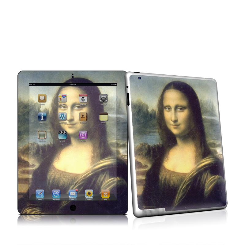 Mona Lisa iPad 2 Skin