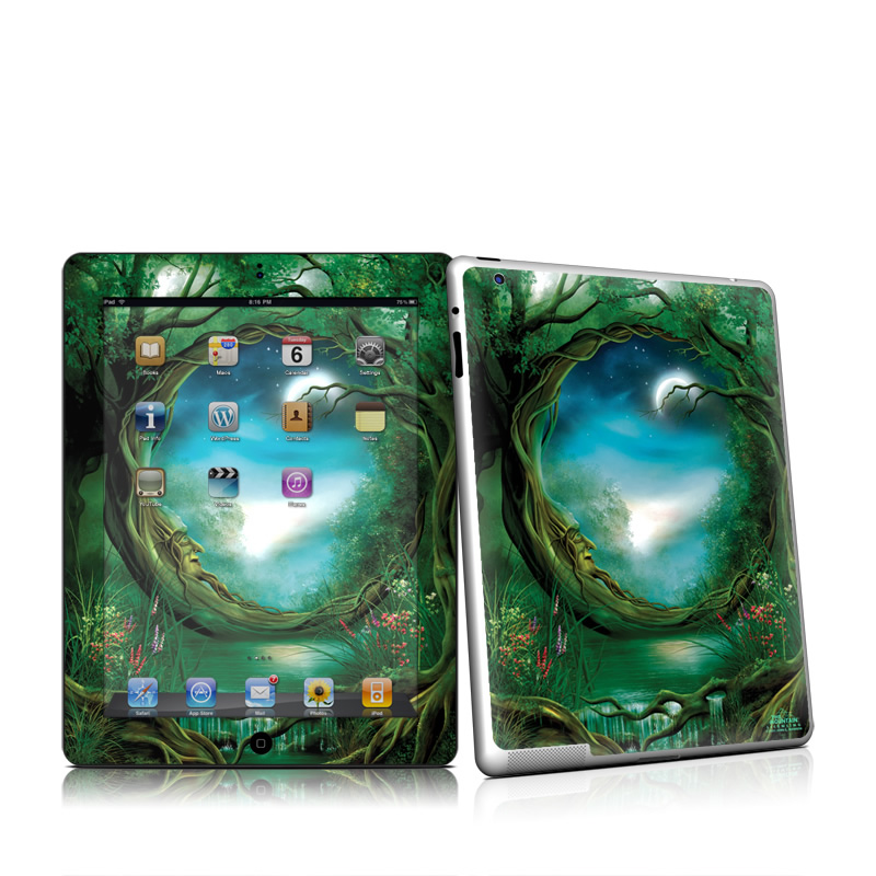 Moon Tree Apple iPad 2 Skin