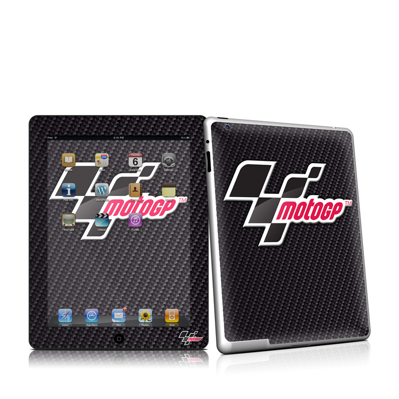 MotoGP Carbon Logo Apple iPad 2 Skin