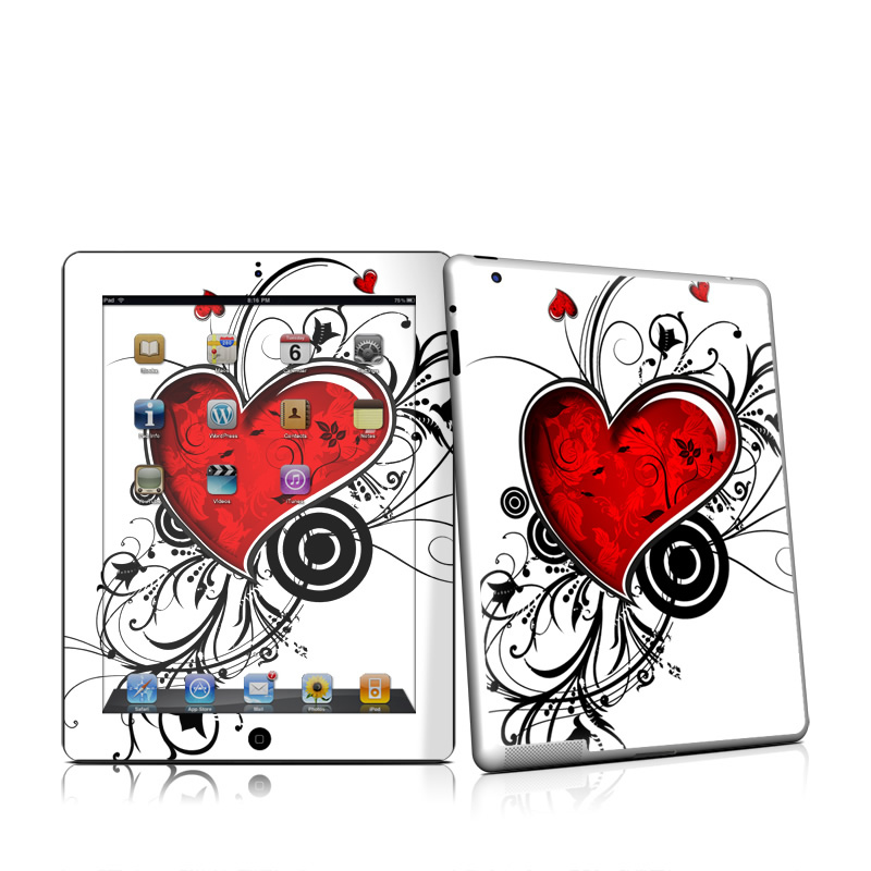 My Heart Apple iPad 2 Skin