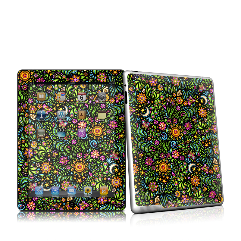 Nature Ditzy Apple iPad 2 Skin