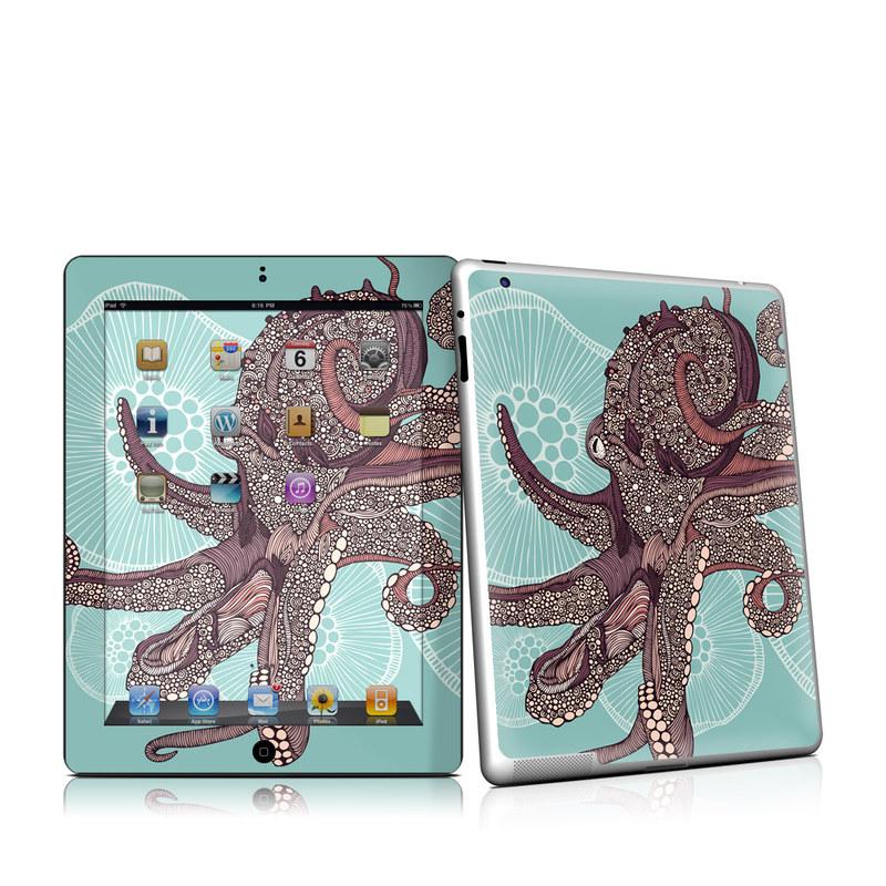 Octopus Bloom iPad 2nd Gen Skin