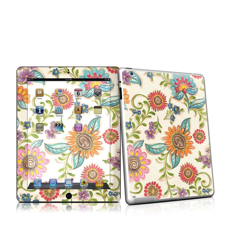 Olivia's Garden iPad 2nd Gen Skin