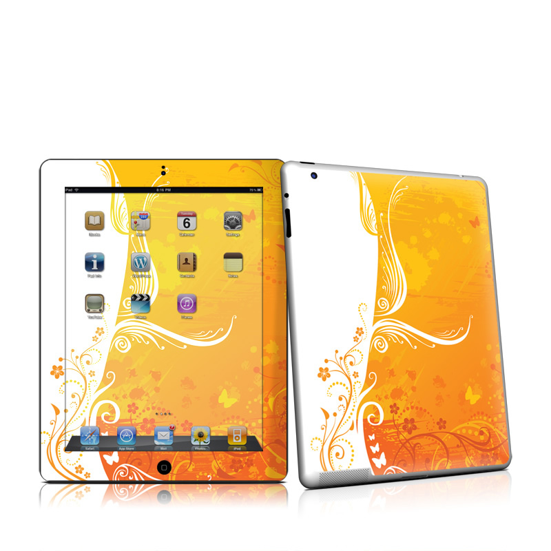 Orange Crush iPad 2nd Gen Skin