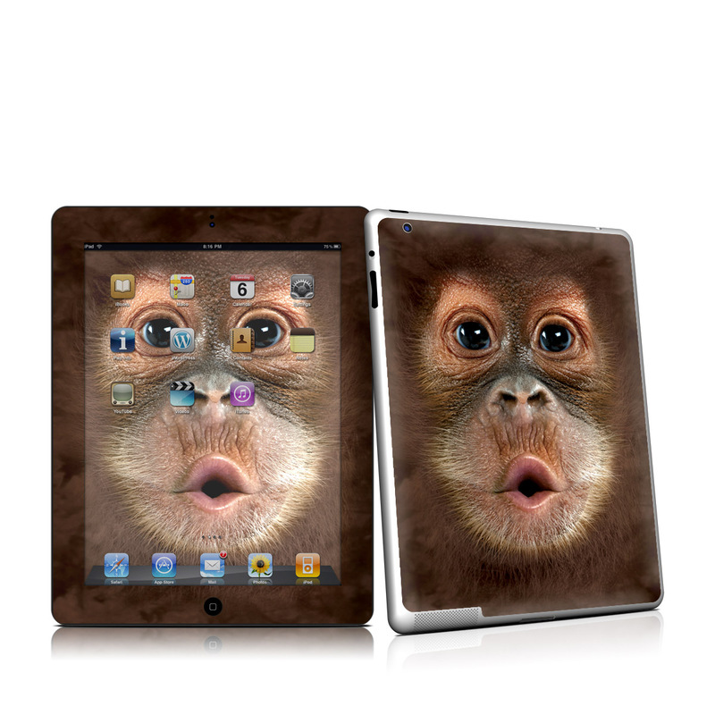 Orangutan iPad 2nd Gen Skin