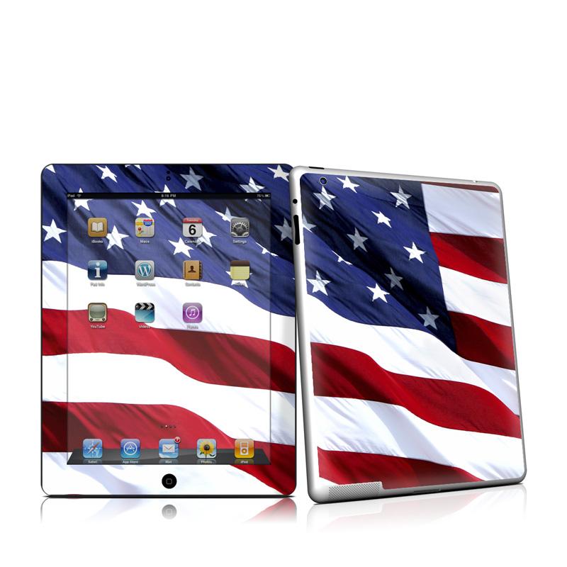 Patriotic Apple iPad 2 Skin